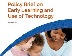 Federal Agencies Release Brief on Tech Use for Early Learners