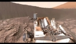 Embedded thumbnail for NASA's Curiosity Mars Rover at Namib Dune (360 view)