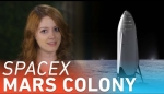 Embedded thumbnail for SpaceX's plan to colonize Mars, explained