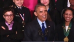 Embedded thumbnail for President Obama Hosts the 2015 White House Science Fair