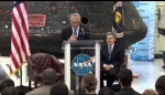Embedded thumbnail for With an eye on Mars, White House seeks to boost NASA funding
