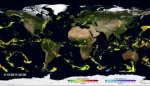 Embedded thumbnail for NASA | First Global Rainfall and Snowfall Map from New Mission