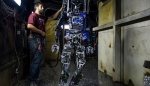 Embedded thumbnail for This Firefighting Robot Could Save Lives on Navy Ships