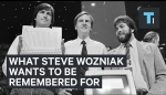 Embedded thumbnail for Steve Wozniak tells us what he wants to be remembered for